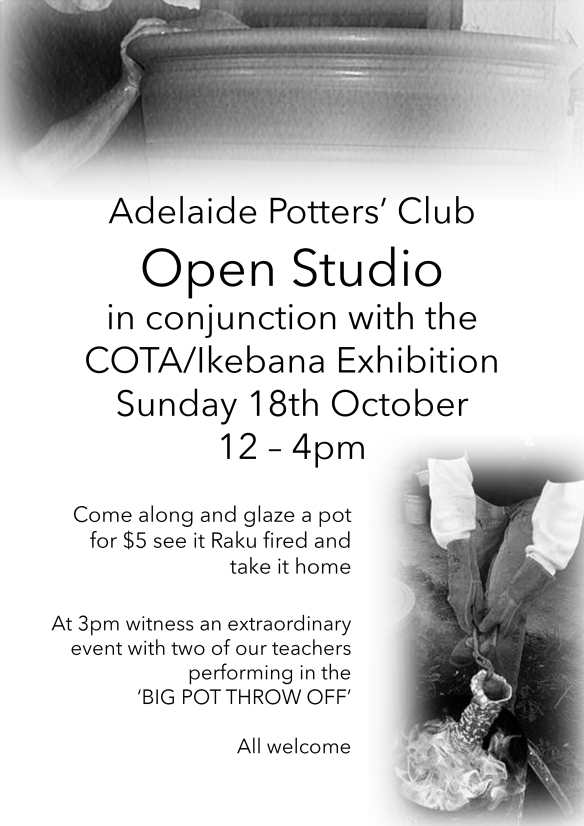 open studio poster
